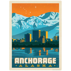 Anchorage Alaska Decal