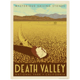 Death Valley National Park California Sailing Stone Decal