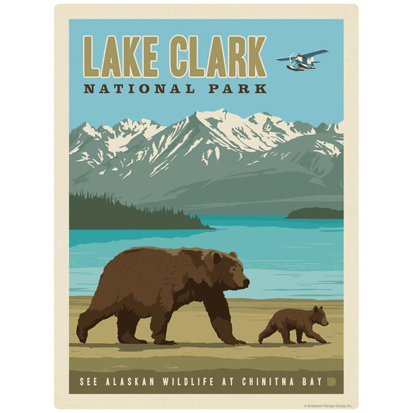 Lake Clark National Park Alaska Decal