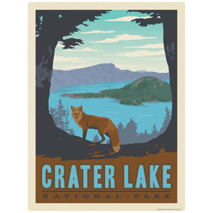 Crater Lake National Park Oregon Decal