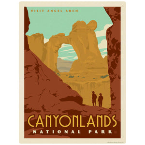 Canyonlands National Park Utah Angel Arch Decal