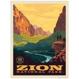 Zion National Park Utah 100th Anniversary Decal