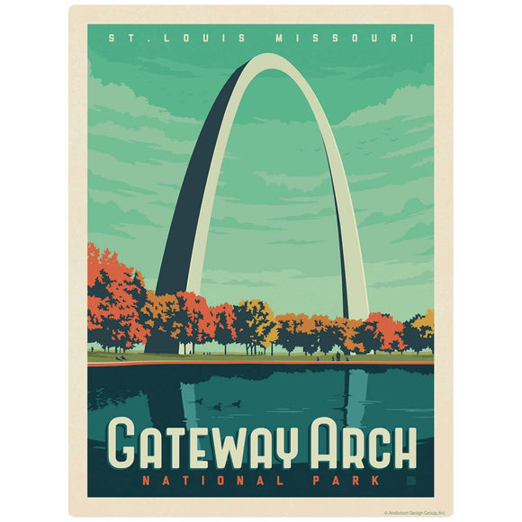 Gateway Arch National Park Missouri Decal