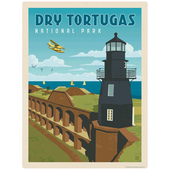 Dry Tortugas National Park Lighthouse Decal