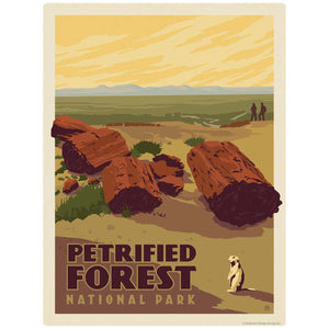 Petrified Forest National Park Arizona Decal