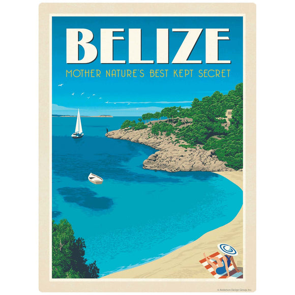 Belize Beach Decal