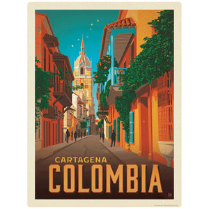 Cartagena Colombia Decal