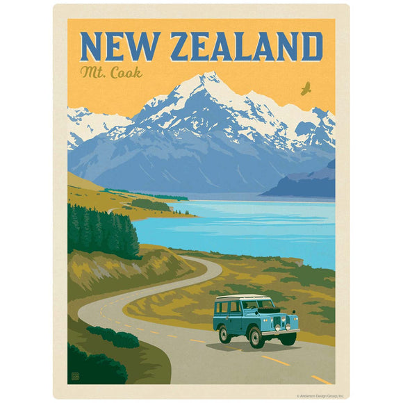 New Zealand Mt. Cook Decal
