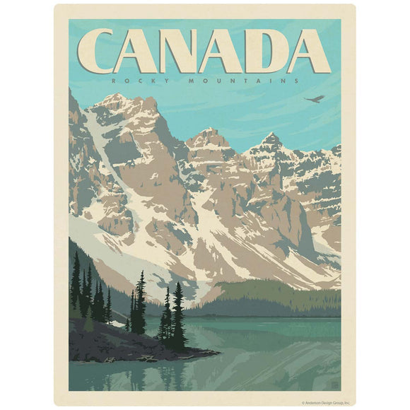 Rocky Mountains Canada Decal