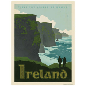 Ireland Cliffs of Moher Decal