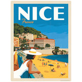 Nice France Beach Decal