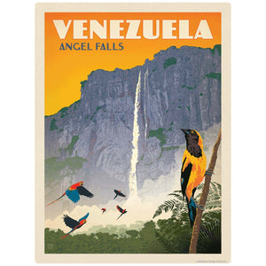 Venezuela Angel Falls Decal