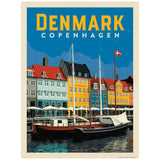 Copenhagen Denmark Waterfront Decal