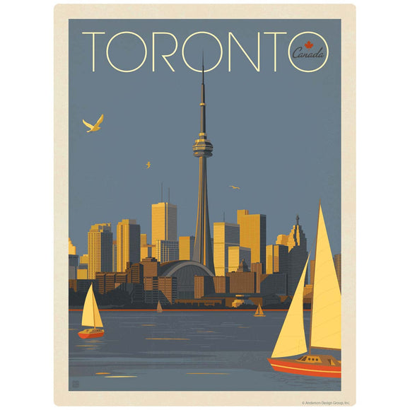 Toronto Canada CN Tower Decal