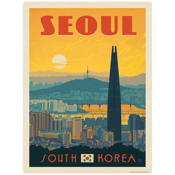 Seoul South Korea Decal