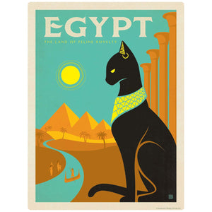 Egypt Land of Feline Royalty Decal