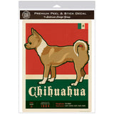 Chihuahua Dog Facts Decal