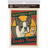 Bostons Best Terrier Treats Decal