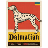 Dalmatian Dog Facts Decal
