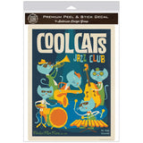 Cool Cats Jazz Club Decal