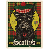 Scotty Dogs Golf Shop Decal