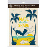 Made In The Shade Beach Decal