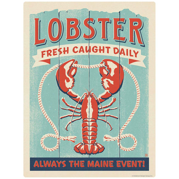 Lobster Maine Event Decal