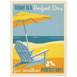Another Perfect Day Beach Chair Decal