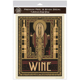 Wine Nectar of the Gods Greek Deco Decal