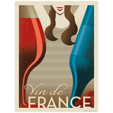 Vin de France French Wine Decal