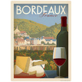 Bordeaux France Wine Decal