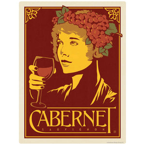 Cabernet Sauvignon Wine Decal