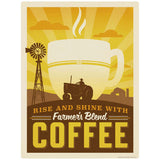 Farmers Blend Coffee Decal