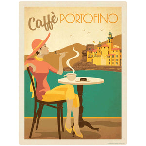 Caffe Portofino Italian Coffee Decal