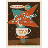 Las Vegas Coffee Casino Decal