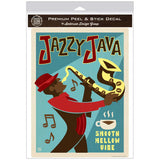 Jazzy Java Coffee Decal