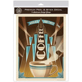 Worlds Fair Coffe Deco Decal