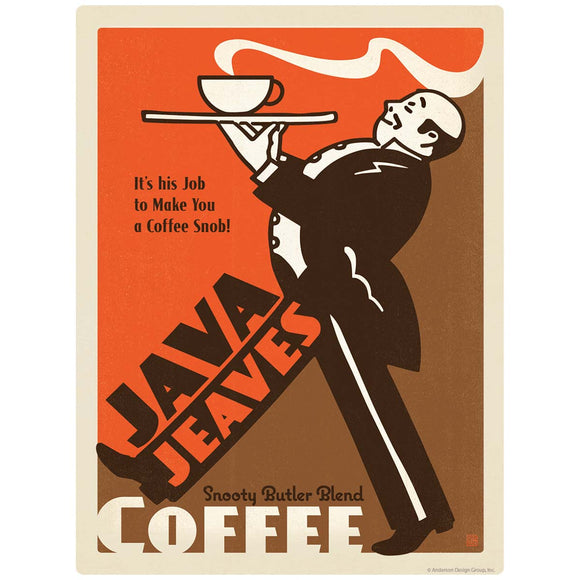 Java Jeaves Coffee Snob Decal