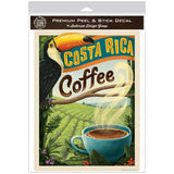 Costa Rica Coffee Decal