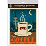 New York City Coffee NYC Decal