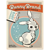 Bunny Brand Baby Powder Decal