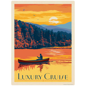 Luxury Cruise Canoe Decal