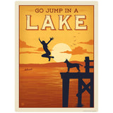 Go Jump In A Lake Decal