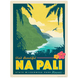 Na Pali Park Hawaii Decal