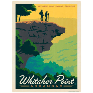 Whitaker Point Arkansas Ozark National Forest Decal