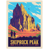 Shiprock Peak New Mexico Decal