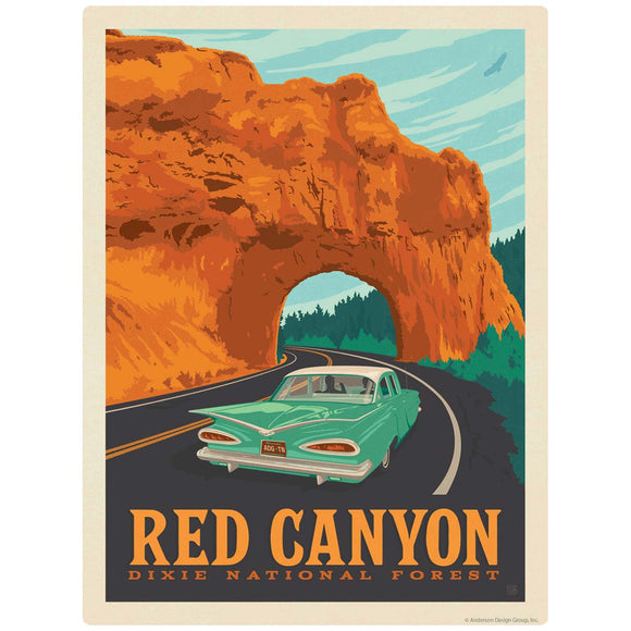 Red Canyon Dixie National Forest Utah Decal