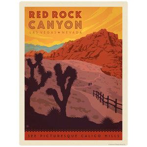 Red Rock Canyon Las Vegas Nevada Decal