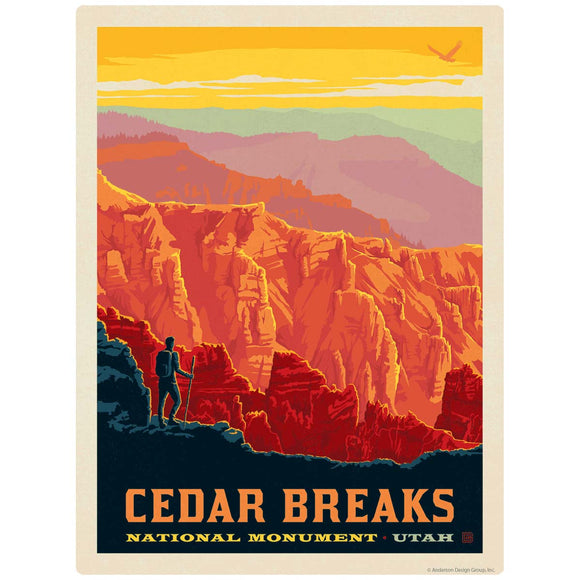 Cedar Breaks Utah Decal