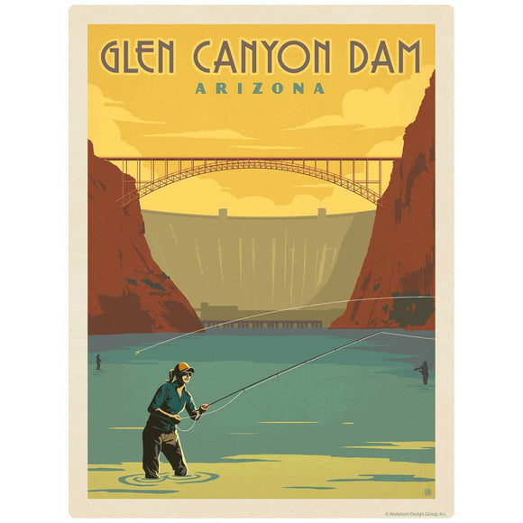 Glen Canyon Dam Arizona Decal